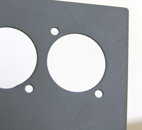 Surface-treated sheet metal component parts