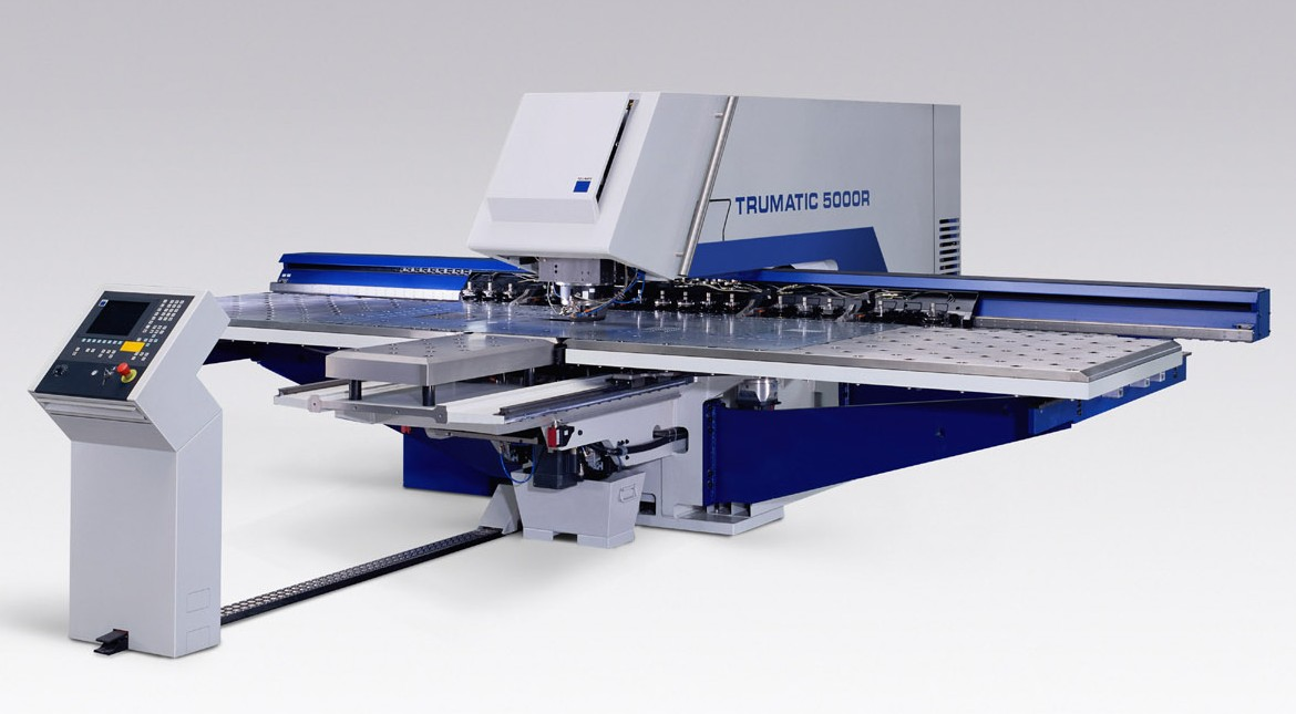 Trumpf Trumatic 5000R Punching Machine with Sheetmaster Loading System