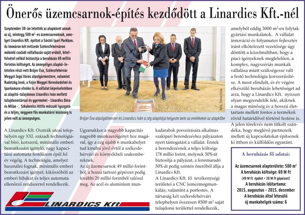 Fehérvár közéleti hetilap 2015.10.01